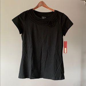 A2. Merona Cotton Top with neckline detailing
